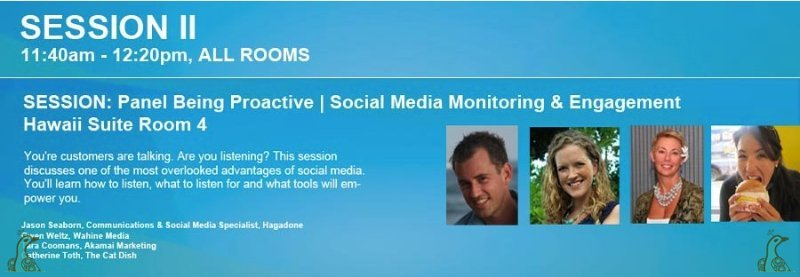 Being Proactive | Social Media Monitoring & Engagement