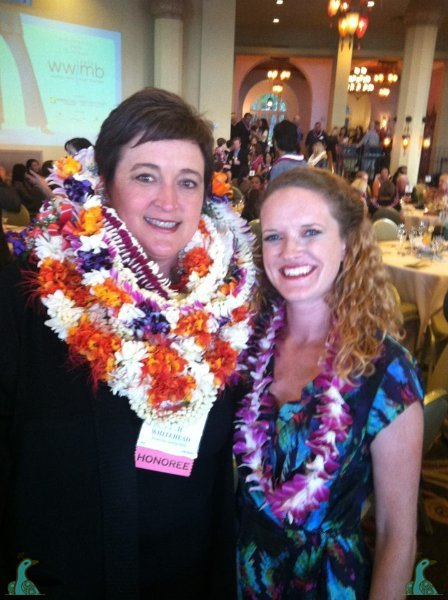 Love your lei Beth! with Beth from American Savings Bank