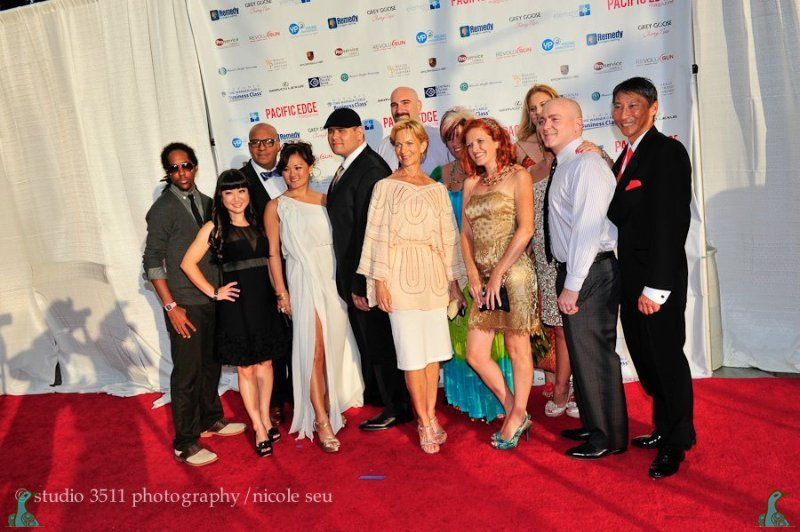 Rockin' the red carpet!