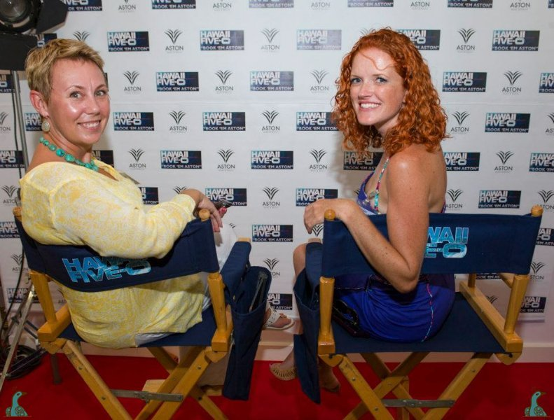 Five-0 fans! --Hawaii Five-0 Launch Party with Tara Coomans