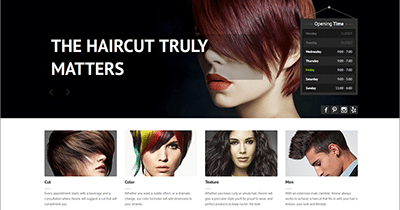 The Hair Lounge Hawaii website